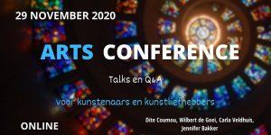 Arts conference via zoom